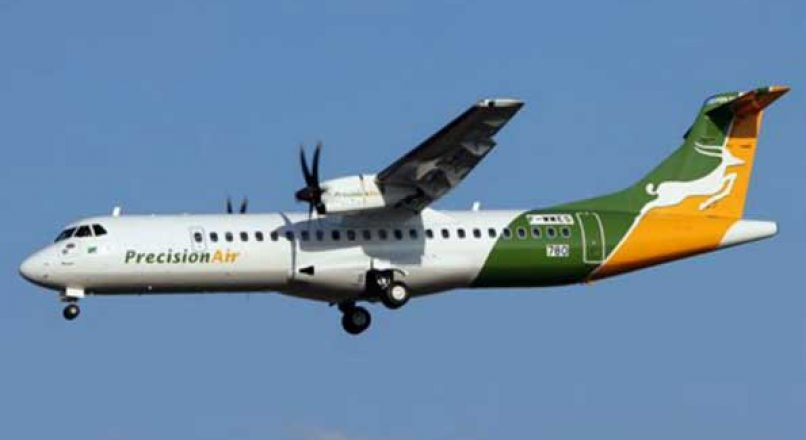 Precision Air in Tanzania